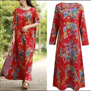 Dresses & Skirts - Floral. BoHo Chic. Hippie. Maxi.